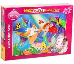 Disney Ariel, a kis hableány színezhető puzzle 108 db-os