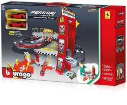 Bburago Ferrari Downhill garázs szett 1:64
