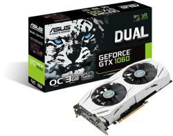 ASUS GeForce GTX 1060 OC 3GB GDDR5 192bit PCIe (DUAL-GTX1060-O3G)