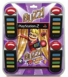 Sony Buzz! The Mega Quiz [Buzzers Bundle] (PS2)