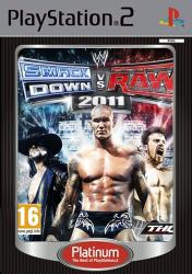 THQ WWE SmackDown vs RAW 2011 [Platinum] (PS2)