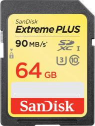 SanDisk SDXC Extreme Plus 64GB SDSDXWF-064G-GNCIN