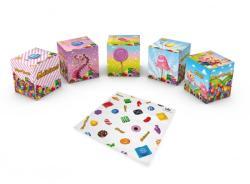 Candy Crush Dobozos papírzsebkendő 3 rétegű 56db