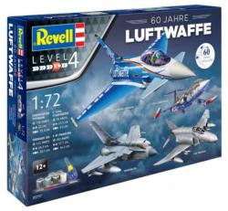 Revell Gift Set 60th Anniversary German Luftwaffe 1/72 (5797)