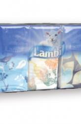Lambi Ultra Soft papírzsebkendő 4 rétegű 10 x 10db