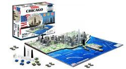 4D Cityscape 4D City Puzzle - Chicago