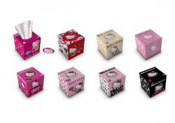 Sanrio Hello Kitty dobozos papírzsebkendő 3 rétegű  56db