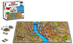 4D Cityscape 4D City Puzzle - Budapest