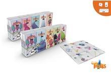DreamWorks Trollok papírzsebkendő 4 rétegű 10 x 9db