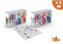 DreamWorks Trollok papírzsebkendő 4 rétegű 6 x 9db