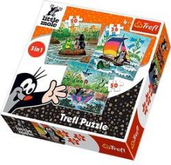 Dino Kisvakond 3 az 1-ben puzzle - 20, 36, 50 db-os