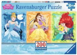 Ravensburger XXL Puzzle - Csodaszép Hercegnők 200 db-os