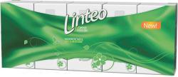 Linteo Zsebkendők fehér 2 rétegű 10 x 10db