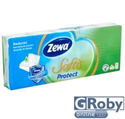 Zewa Softis Protect papírzsebkendő 4 rétegű 10 x 9db
