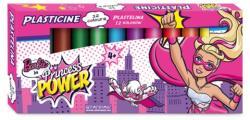 Starpak Barbie a szuperhős hercegnő 12db-os színes gyurmaszett