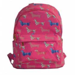 Signare gobelin női hátizsák Dachshund Pink