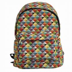 Signare gobelin Back Pack női hátizsák MultiColored Triangle