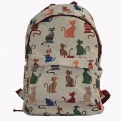 Signare gobelin Back Pack női hátizsák Cheeky Cat