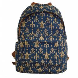 Signare gobelin Back Pack női hátizsák Fleur-de-Lis