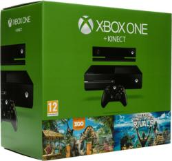 Microsoft Xbox One 500GB + Kinect + Zoo Tycoon + Kinect Sports Rivals