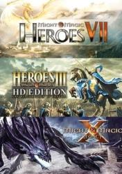 Ubisoft Might & Magic Heroes VII + Heroes III HD + X Legacy (PC)