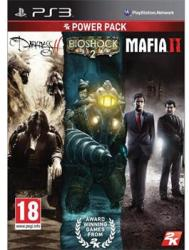 2K Games Power Pack: The Darkness II + Bioshock 2 + Mafia II (PS3)