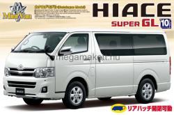 Aoshima Toyota Hiace Super GL200 2010 1/24