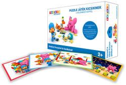 Zinkia Pocoyo puzzle 4 különböző képpel (KEDD-B50S16211POFERO)