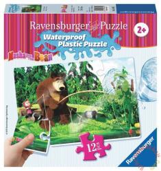 Ravensburger Mása és a medve - Horgászat vízálló puzzle 12 db-os (05605)