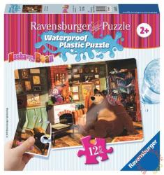 Ravensburger Mása és a medve - A nappaliban vízálló puzzle 12 db-os (05607)