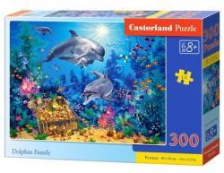 Castorland Delfincsalád 300 db-os (B-030149)