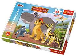 Trefl Az oroszlán őrség - Bátor őrzők maxi puzzle 24 db-os (14240)