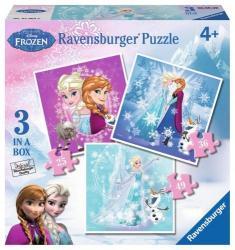 Ravensburger Jégvarázs - 3 az 1-ben puzzle 25, 36, 49 db-os (07003)