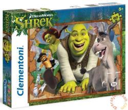 Clementoni Shrek és barátai - Szuper színes puzzle 60 db-os (26945)