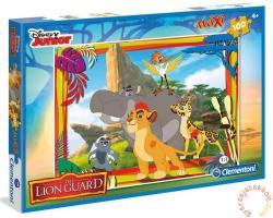 Clementoni Oroszlánkirály: Az oroszlán őrség maxi puzzle 100 db-os (07526)