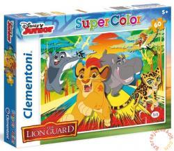 Clementoni Az oroszlán őrség - Szuper színes puzzle 60 db-os (26960)
