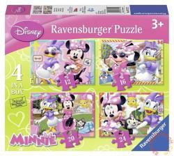 Ravensburger Minnie Mouse és barátai 4 az 1-ben puzzle - 12, 16, 20, 24 db-os (07127)