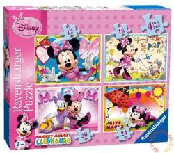Ravensburger Minnie Mouse 4 az 1-ben puzzle 12, 16, 20, 24 db-os (07255)