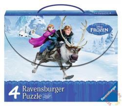 Ravensburger Jégvarázs 4 az 1-ben puzzle kofferben (07300)