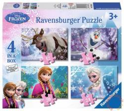 Ravensburger Jégvarázs 4 az 1-ben puzzle 12, 16, 20, 24 db-os (07360)