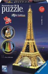 Ravensburger Night Edition - Eiffel-torony 3D puzzle 216 db-os (12579)