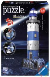 Ravensburger Night Edition - Világítótorony 3D puzzle 216 db-os (12577)