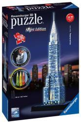 Ravensburger Night Edition - Chrysler Building 3D puzzle 216 db-os