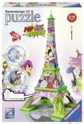Ravensburger 3D Puzzle - Pop Art Edition - Eiffel-torony 216 db-os (12598)