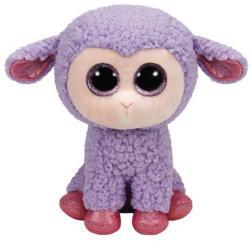 TY Inc Beanie Boos - Lavender, a lila bárány  24cm (TY37048)