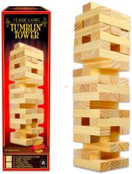 Merchant Klasszikus társasjátékok gyűjtemény - építkező torony fából