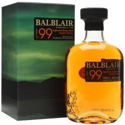 BALBLAIR 1999 Vintage Whiskey 1L 46%