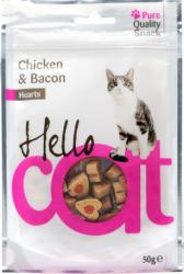 Hello Cat Jutalomfalat Macska Hello Cat Csirke És Bacon 50g