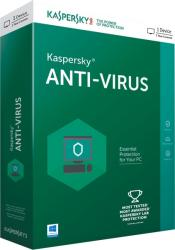 Kaspersky Anti-Virus 2017 (1 User, 1 Year) KL1171OBABS