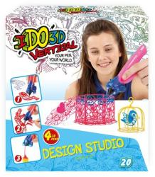 RedwoodVentures IDO3D Vertical lányos rajzoló szett 4 tollal (IDO5237-L)